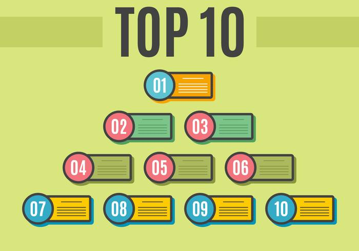 Free Outstanding Top 10 Vectors