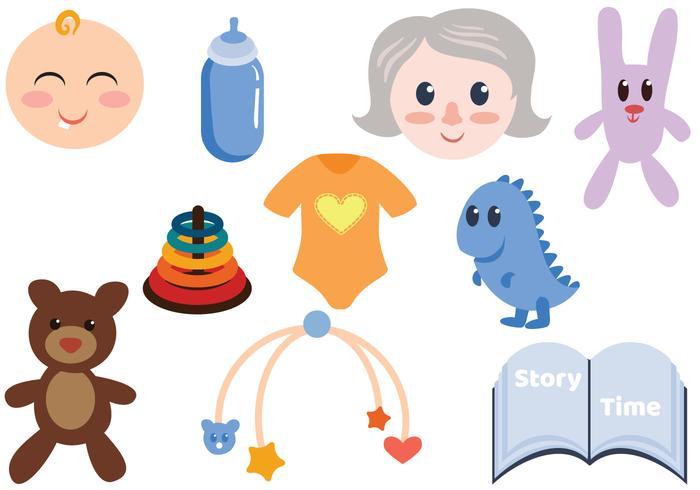 Vecteurs de bébé gratuit