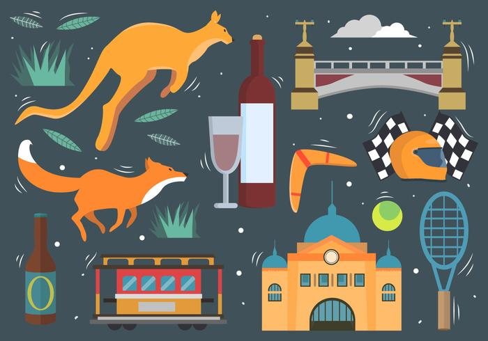 Melbourne-Elemente
