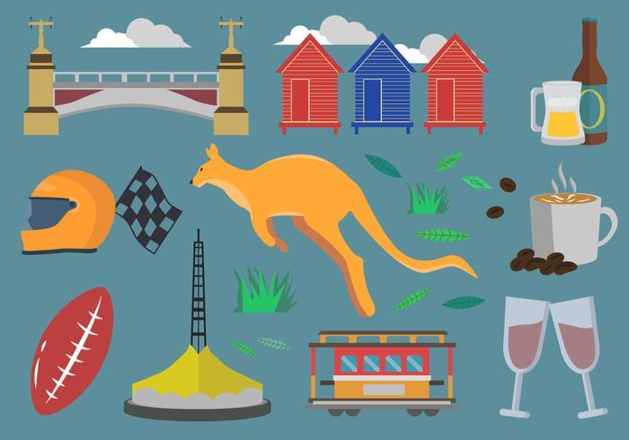Melbourne Icon Set
