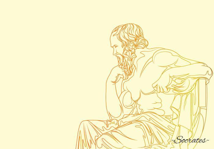 Socrates Philosopher Illustration
