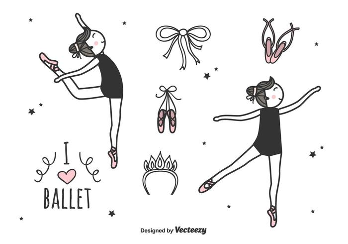 Ballett Vector Set
