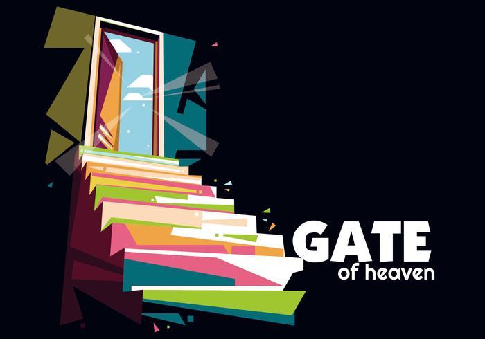 poort van de hemel vector wpap