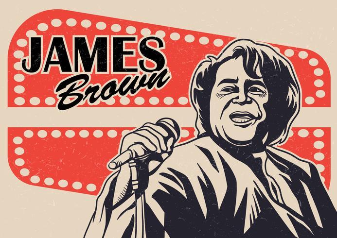 James Brown Vector Hintergrund
