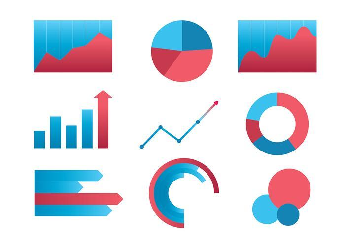 Revenue Chart Set Free Vector