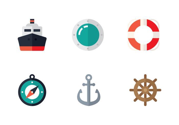 platt marin ikon