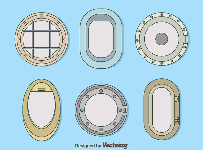 Variation Porthole Collection Vector