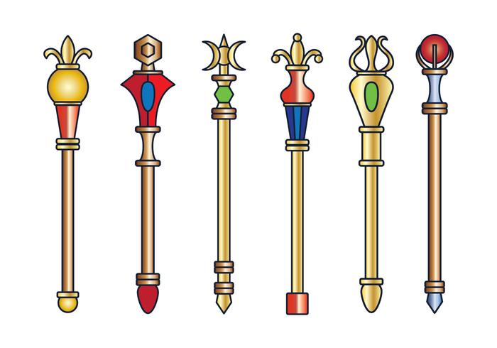 Vector  Royal Sceptre