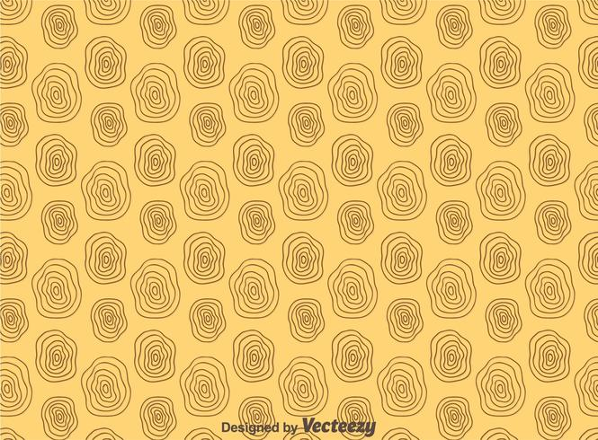 Circle Woodgrain Pattern Vector