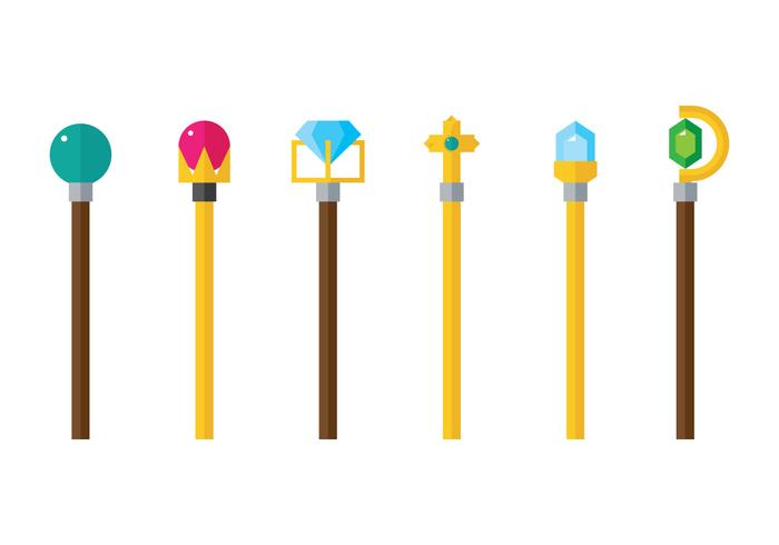 Scepter Flat Icon