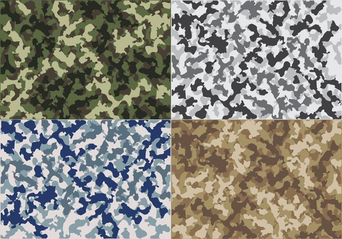 Navy Camouflage Background Patterns