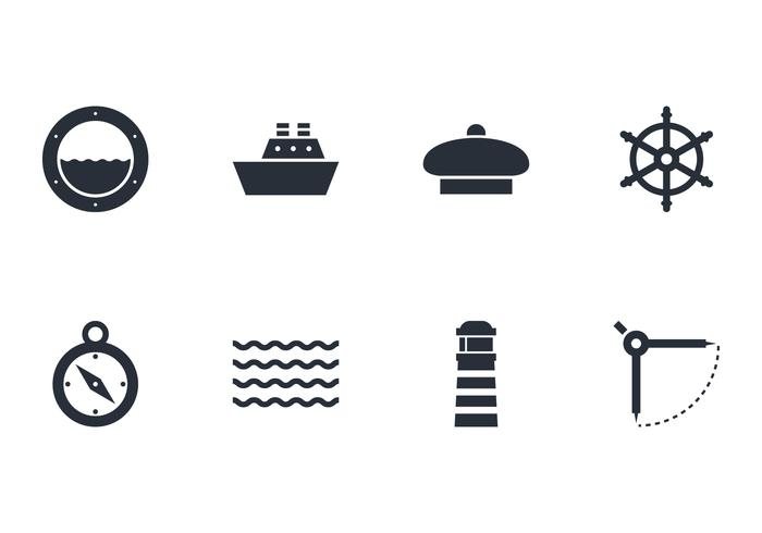 Pack of Nautical Icon Vectors