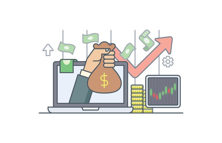 Einnahmen erzielen Abbildung