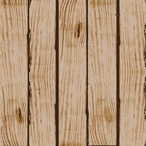 Board with Wood Grain Texture Vector