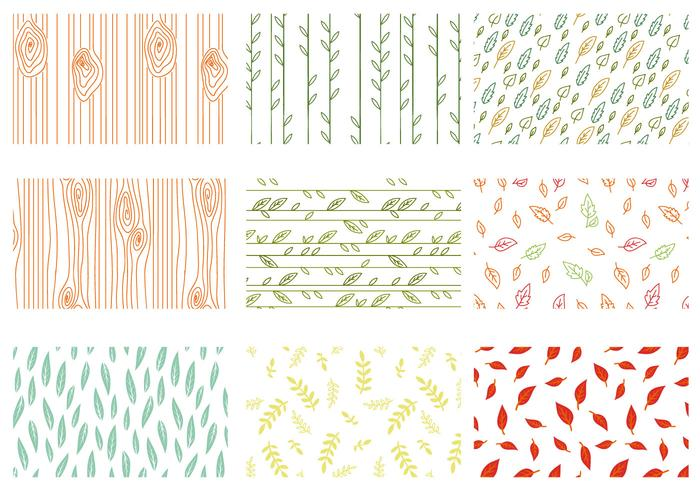 Free Nature Patterns Vectors