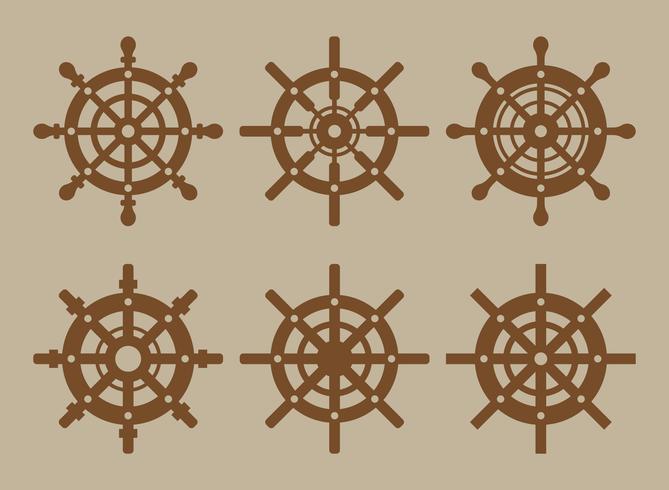 Schiffs-Rad-Vektor