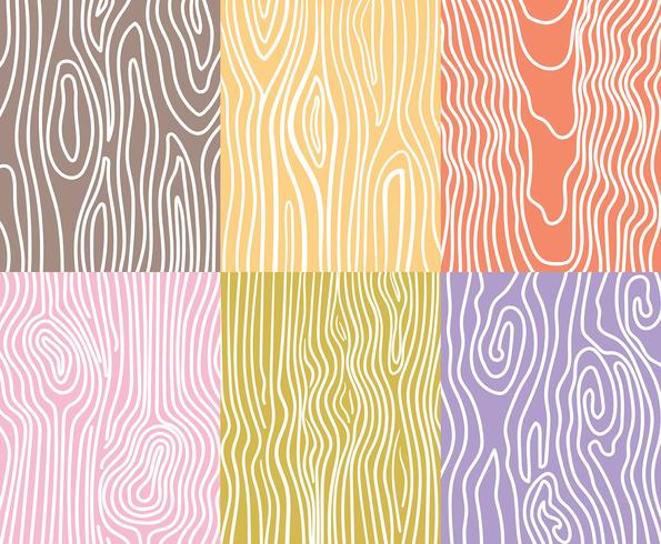 Woodgrain Vector Backgrounds