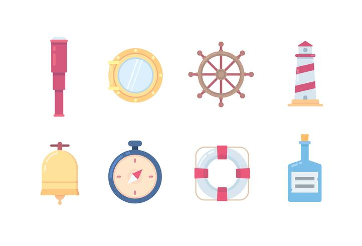 Marine and ship icons