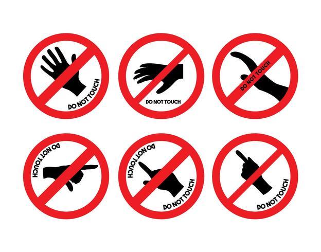 Não toque no conjunto de vetores