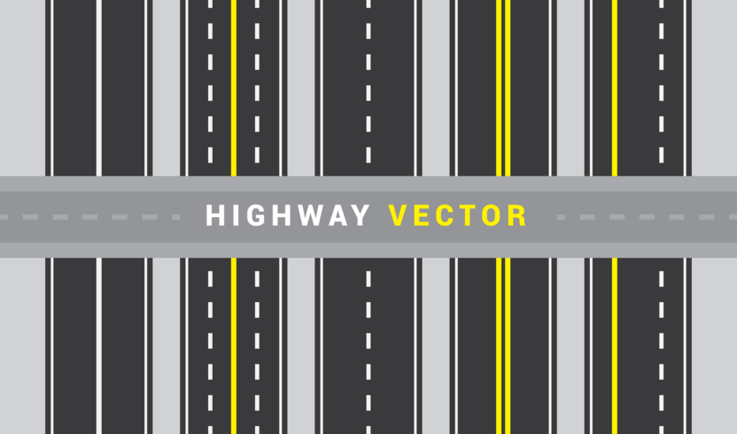 Vector de carretera