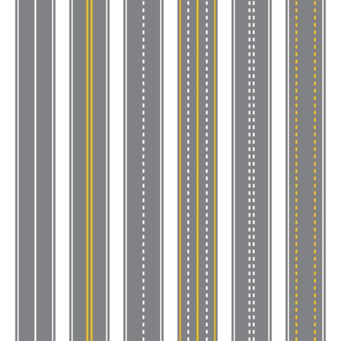 Straight Highway Vector