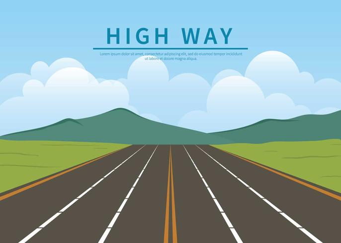 High Way Illustration
