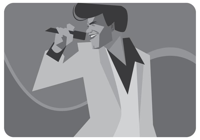 James Brown Zingende Vector