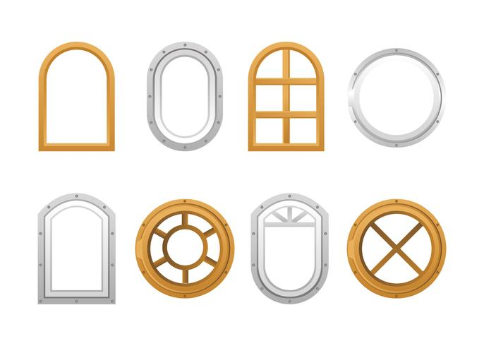 Schiff Windows Vector Pack