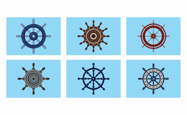 Schiffe Rad Vector Pack