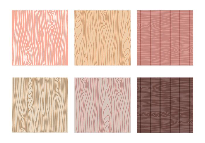 Variant of Woodgrain Pattern Vector Collection
