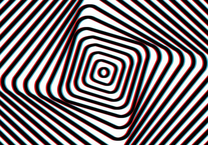 Vertigo Art Illusion Background