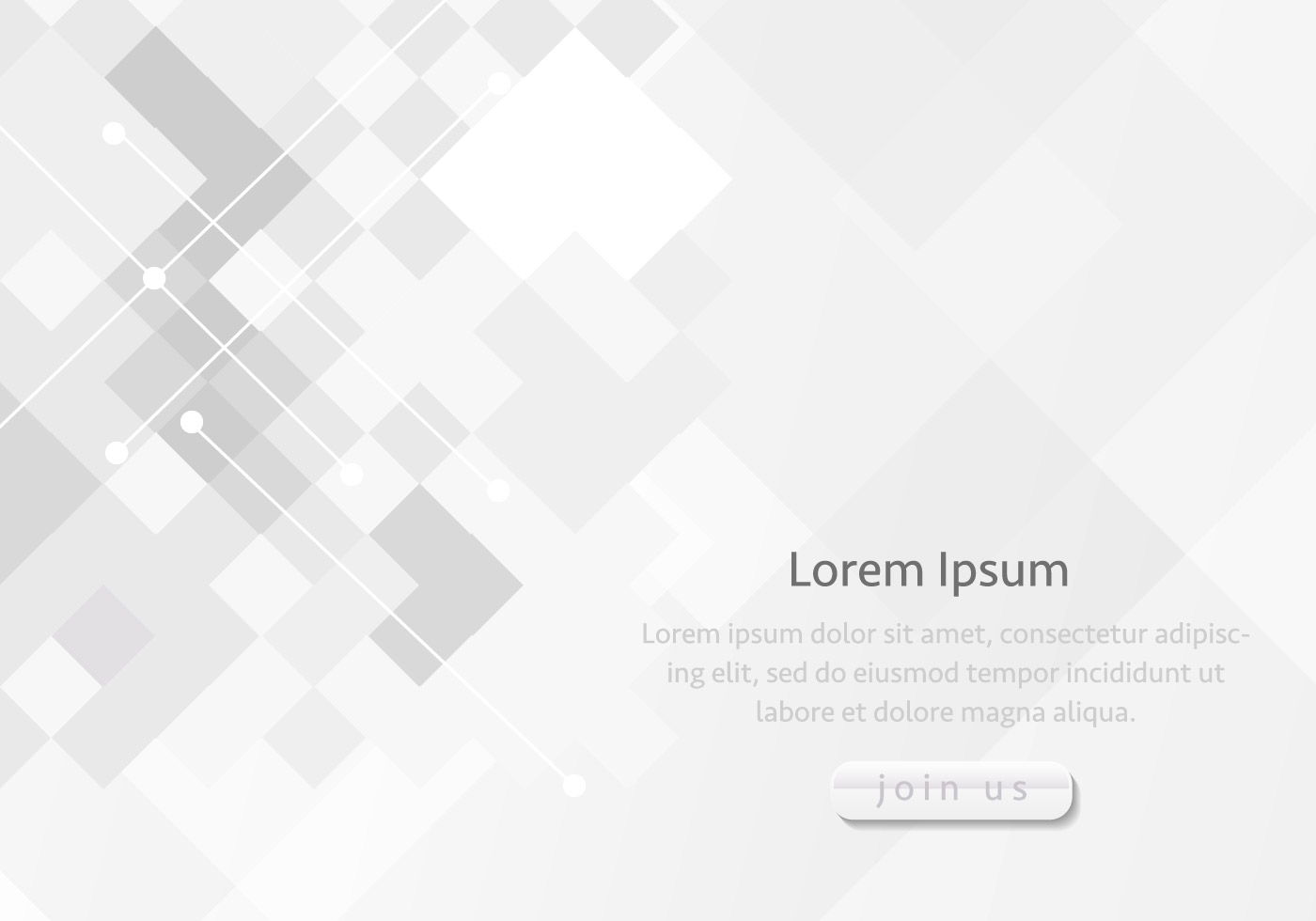 modern grey join us background template
