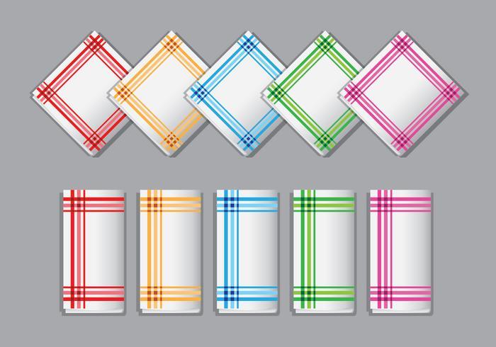 Decorative Napkin Vectors