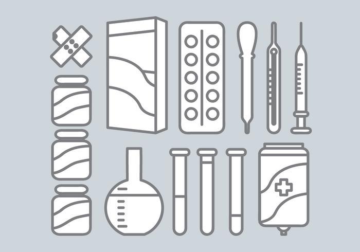 Vector Medische Elementen