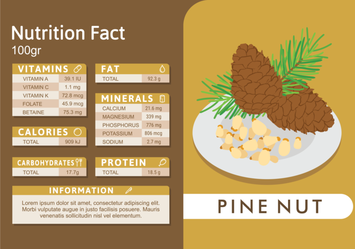 Pine Nut Nutrition Facts