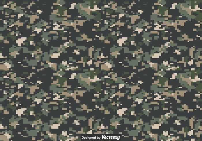 Digital Camouflage Vector Texture