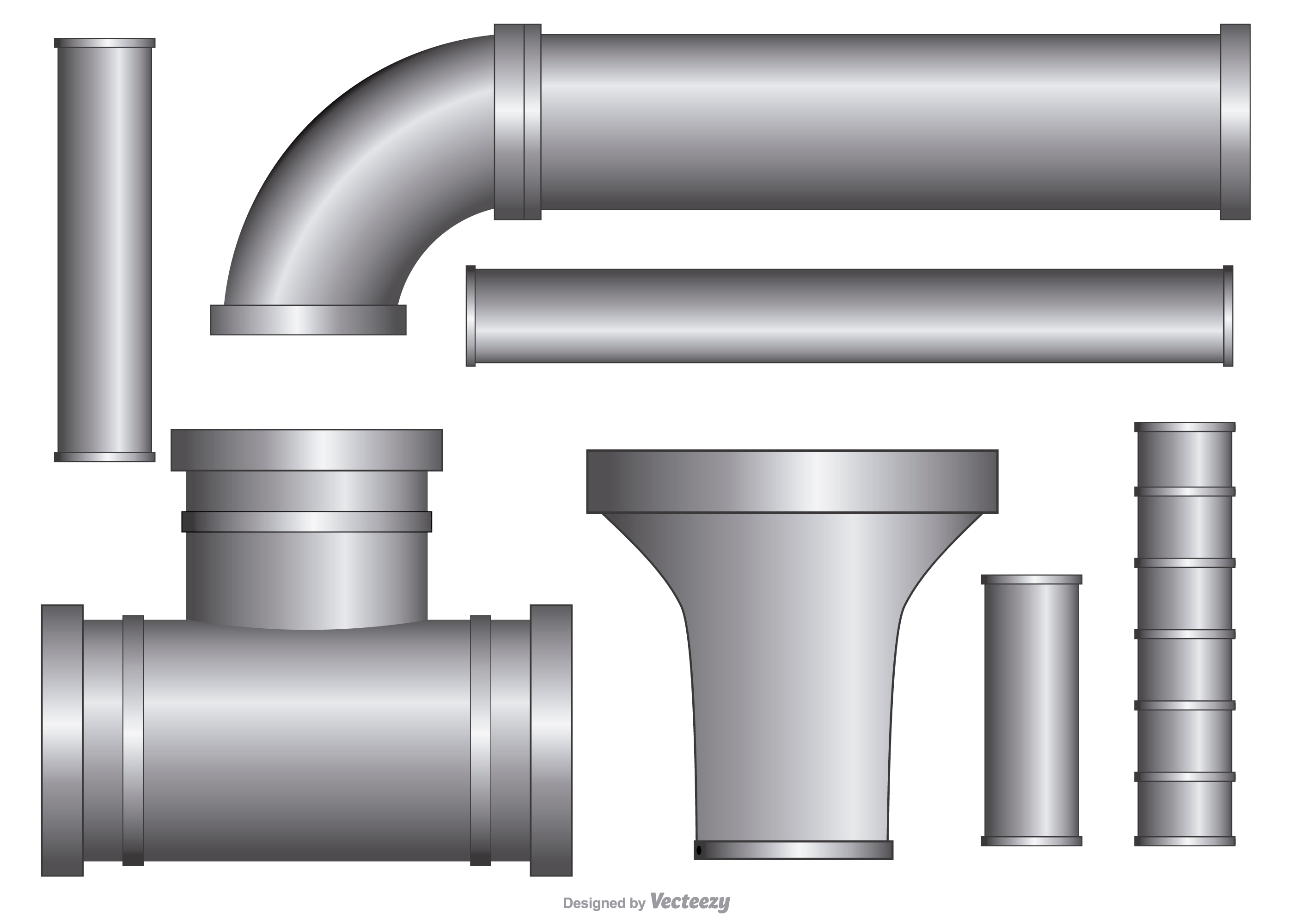 Water pipes free vector art 5158 free downloads for What pipes to use for plumbing