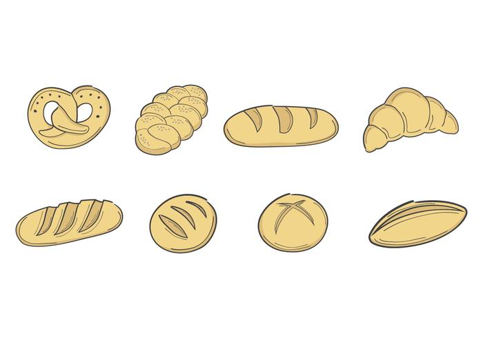 Free Bread Vector Collection