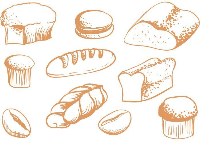 Free Breads Vectors