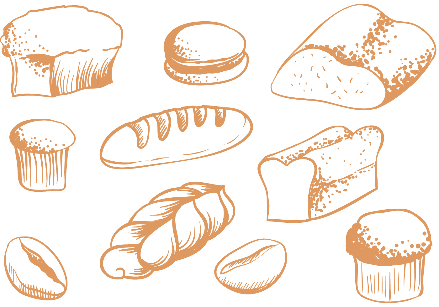 Free Breads Vectors Download Free Vectors Clipart