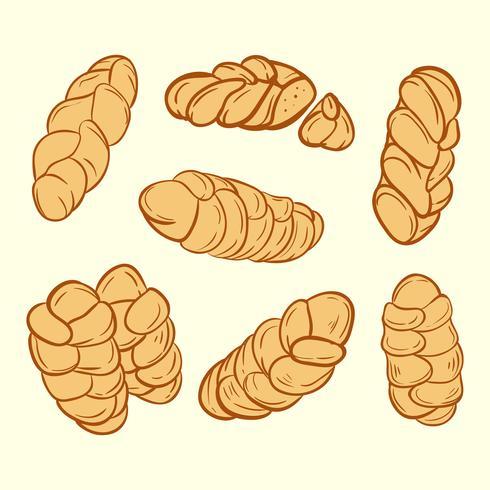 Challah Brödvektor
