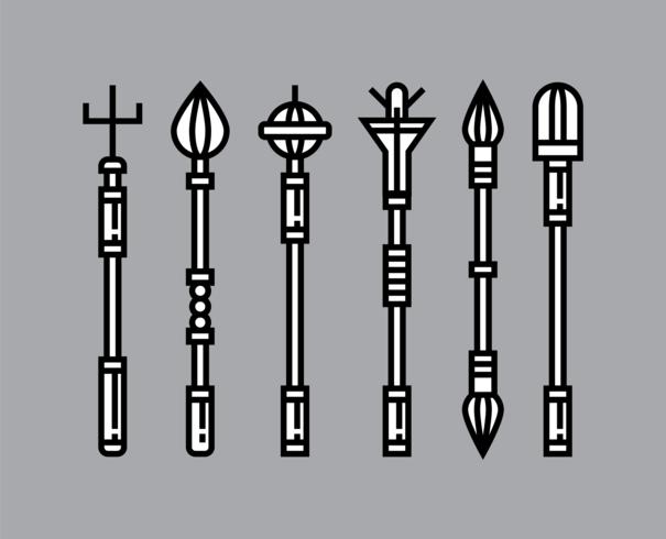 Iconos de Scepter