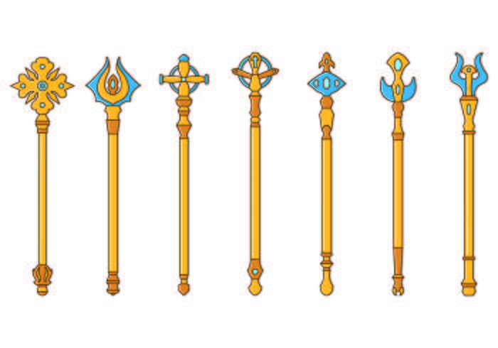 Set Of Scepter Icon