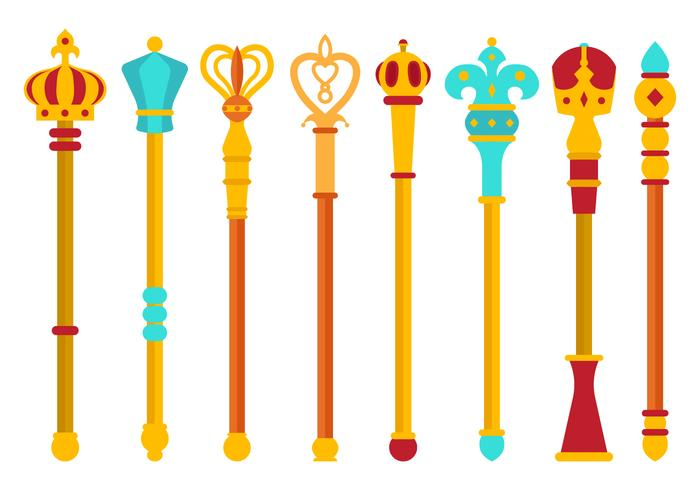 Gratis Scepter Vector Collection