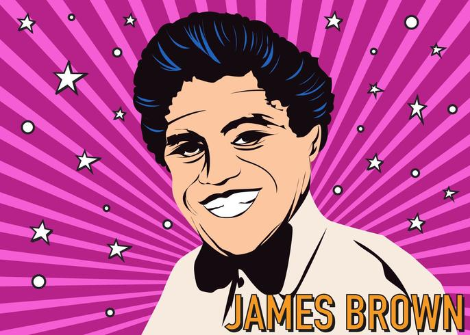James Brown Figuur vector