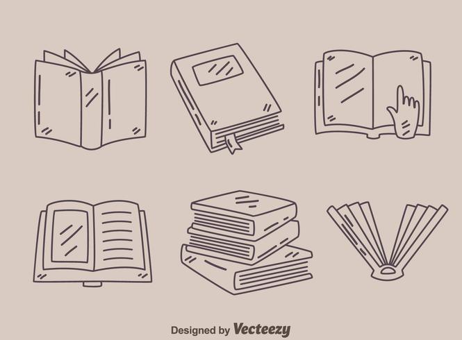 Skizzenbuch-Sammlung-Vektor