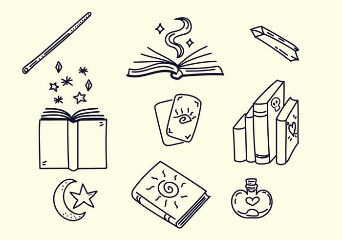 häxa stava böcker