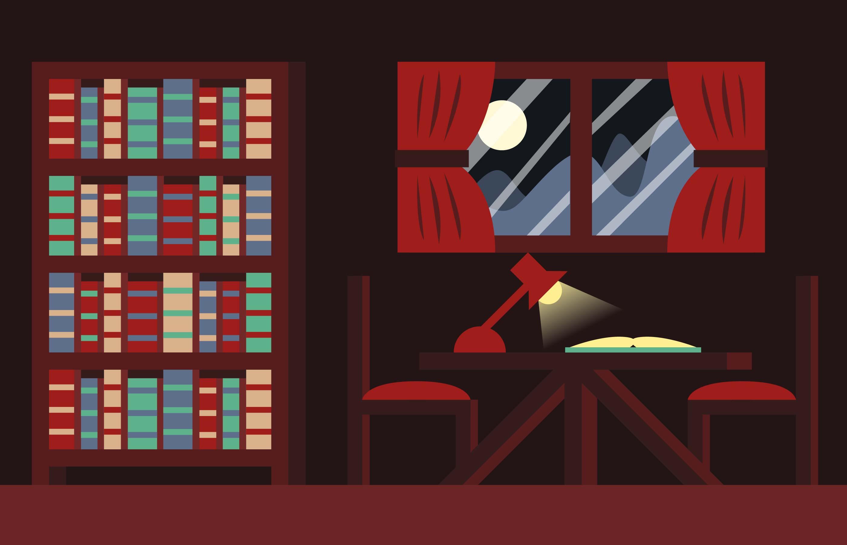 Libro Books Room Background Illustration Vector Download Free Vectors Clipart Graphics