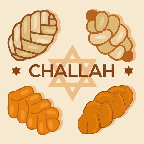Free Challah Bread Icons Vector