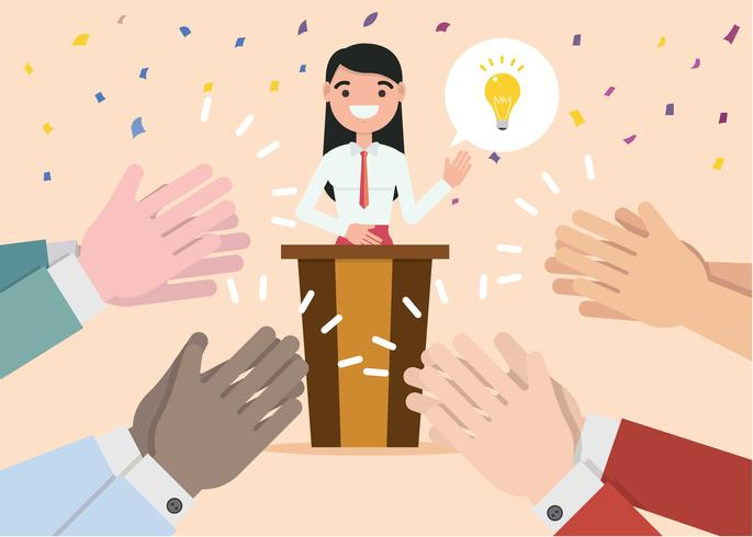 Hands Clapping Illustration Vector